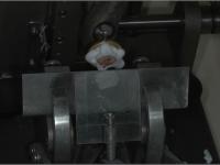 Se realizan finos cortes en el criostato (por congelación)