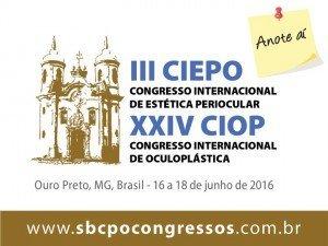 3 CIEPO Estética Periocular Brasil [16-18 Jun 2016]